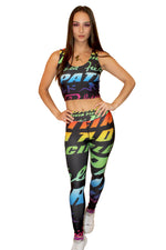 Rainbow Logo Leggings