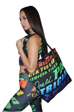 Rainbow Logo Tote Bag