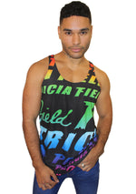 Rainbow Logo Tank Top