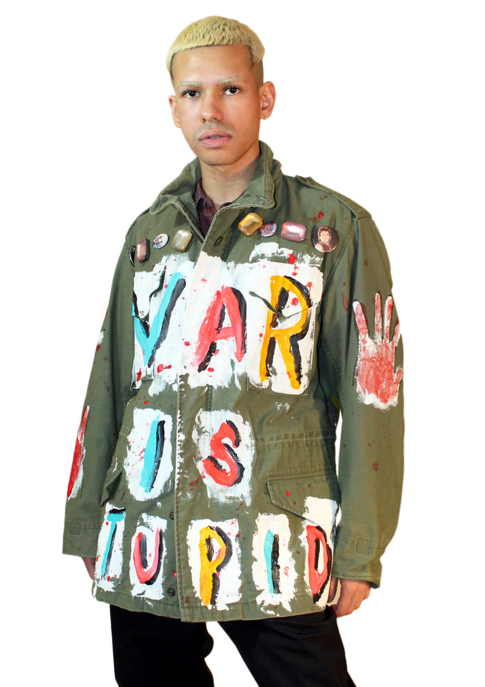 WAR IS STUPID Jacket