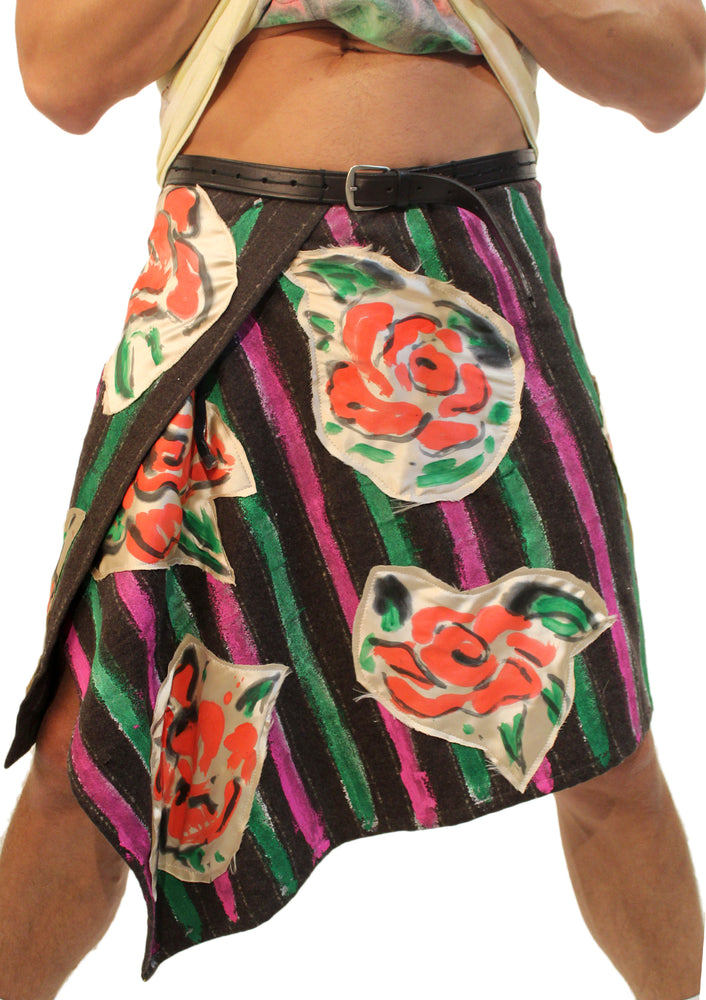 Kilt with Roses