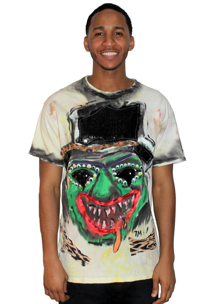 Top Hat Monster T-Shirt