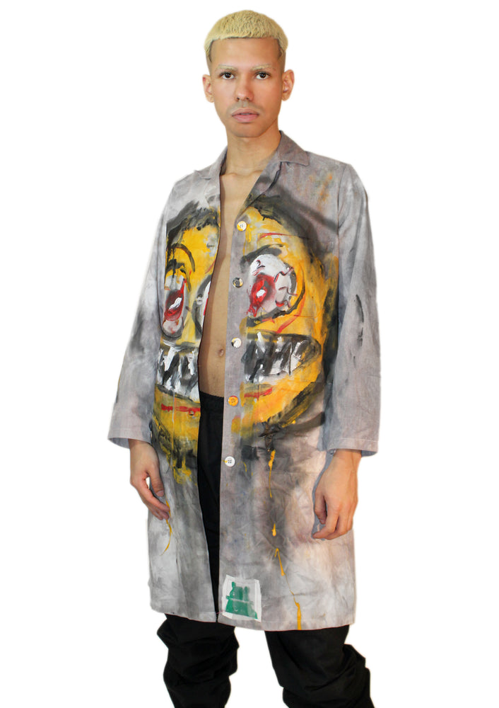 Emoji Series - Seriously Mad Lab Coat