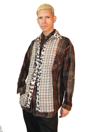 Multi-Layered Hybrid Button-Up