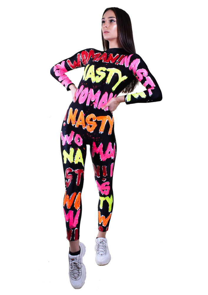 NASTY WOMAN Catsuit