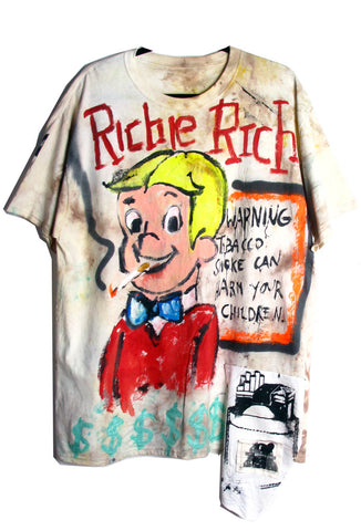 Scooter LaForge 'Richie Rich Smokes' Tee