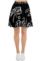 House of Field Logo Skater Skirt