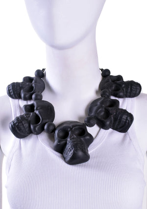 5 Large Skull Necklace