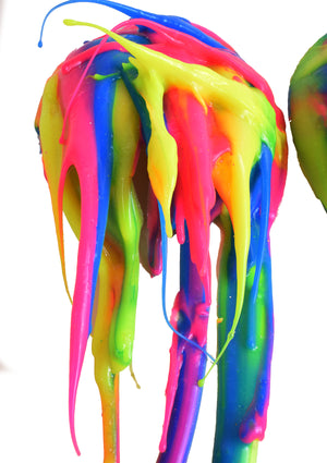 Rainbow Drippy Pasties