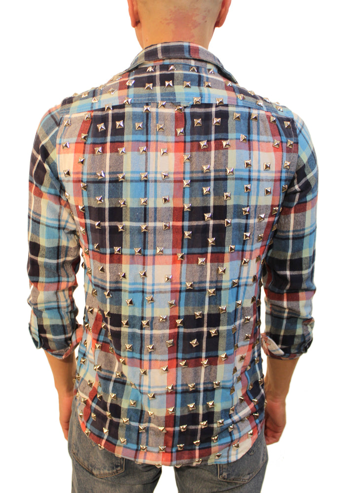 Spike Plaid Shirt
