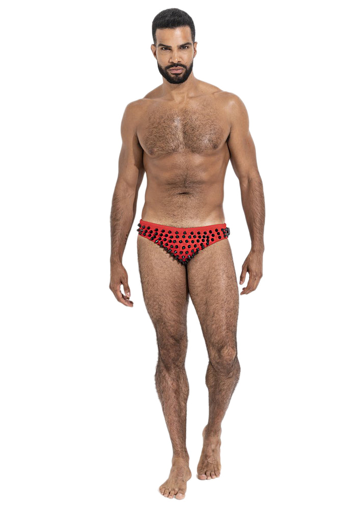 Summer Speedo - Red/Black
