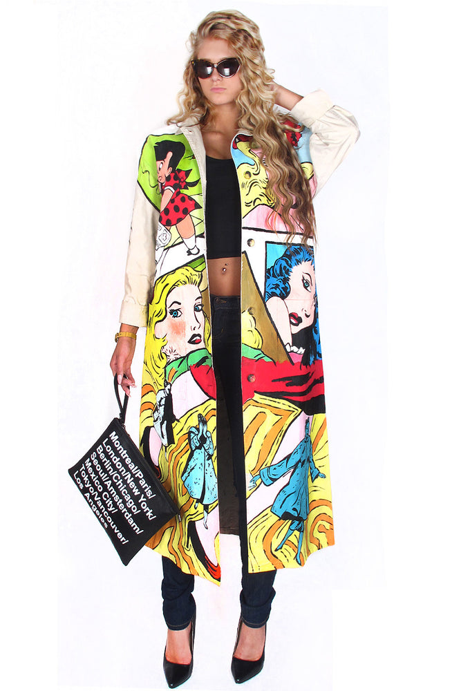 'WOMEN COMIC' Coat