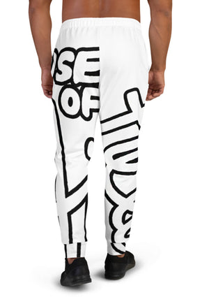House of Field Logo Sweatpants - White