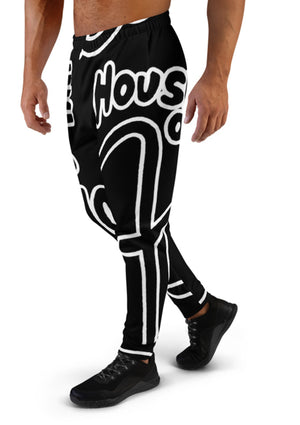House of Field Logo Sweatpants - Black