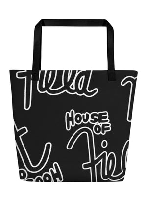 House of Field Logo Tote Bag