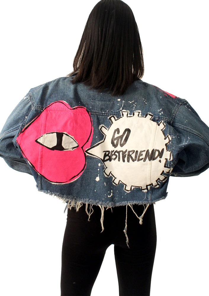 Go Best Friend! Denim Jacket