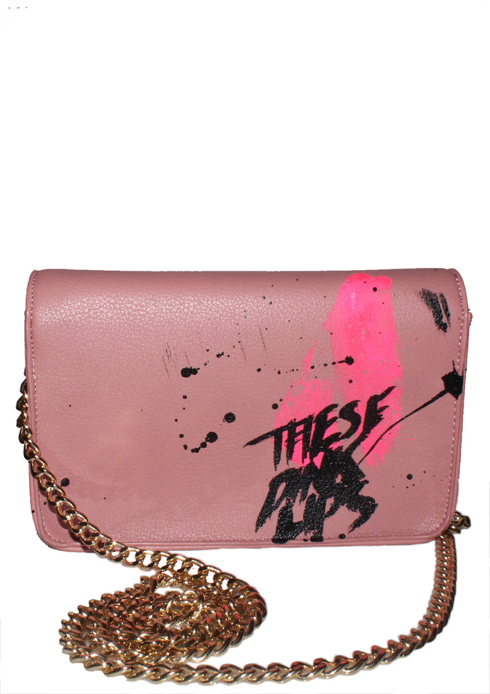 'PUSSY POWER' Pink Party Purse