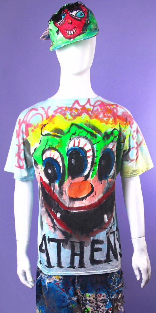 '3 EYED ATHENS MONSTER' Tee