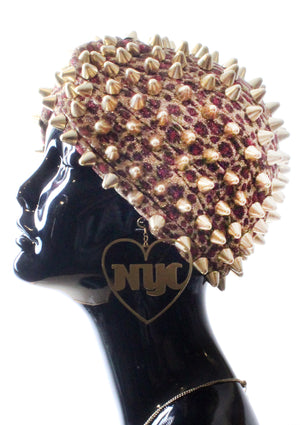 Pretty Kitty Spiked Turban