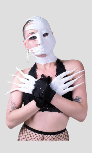 Silicone Glove Set - Phantom White