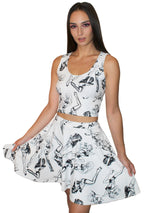 MARTINE Girls Skater Skirt