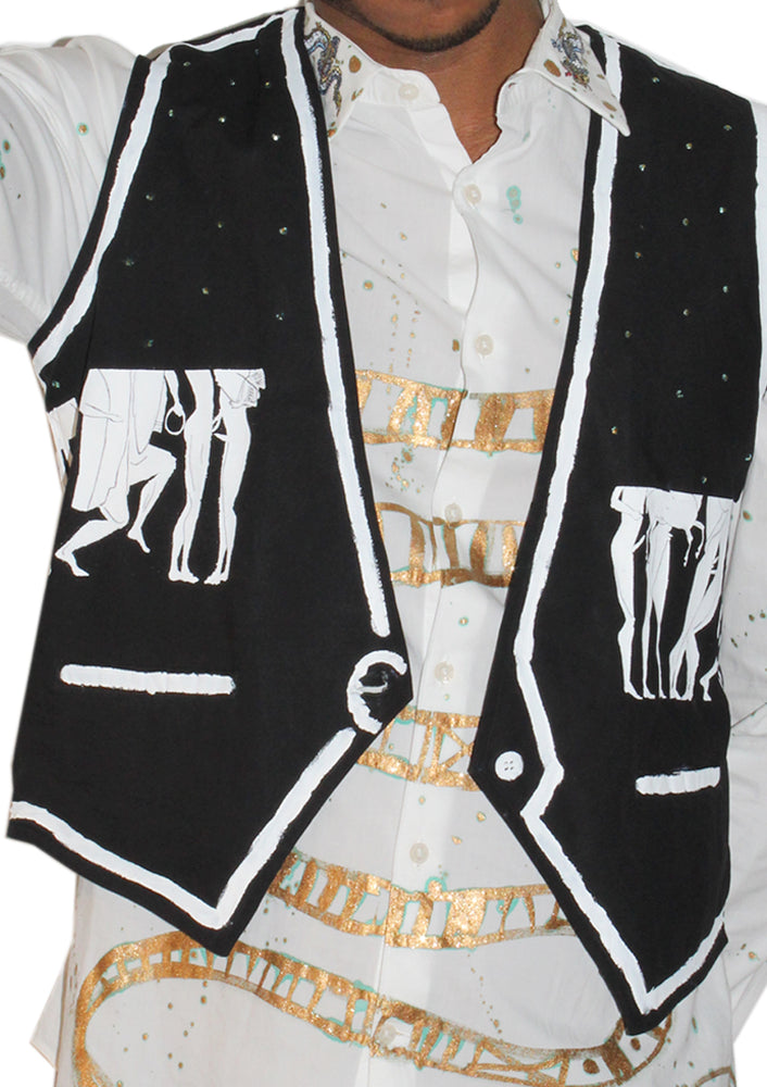 Greek Orgy Suit Vest