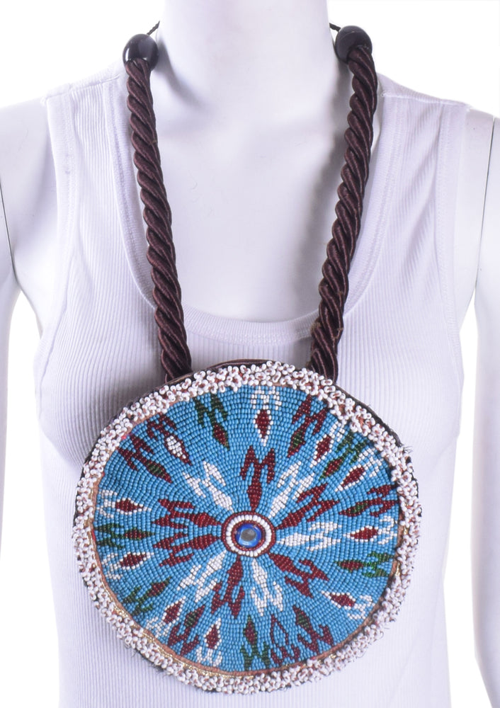 Beaded Platter Necklace 1