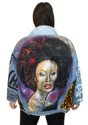 Cynthia Bailey Queen Denim Jacket