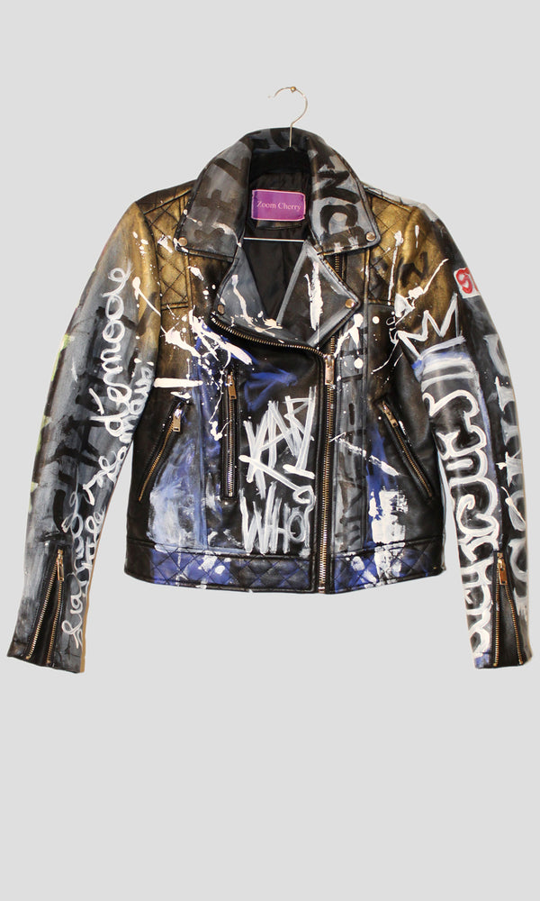 Lagerfeld Faux Leather Jacket