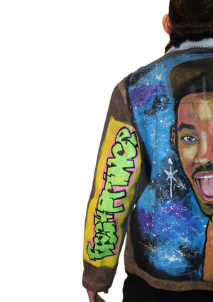 Fresh Prince Suede Jacket