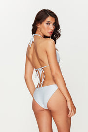 Silver Shimmer Tie Side Bottoms