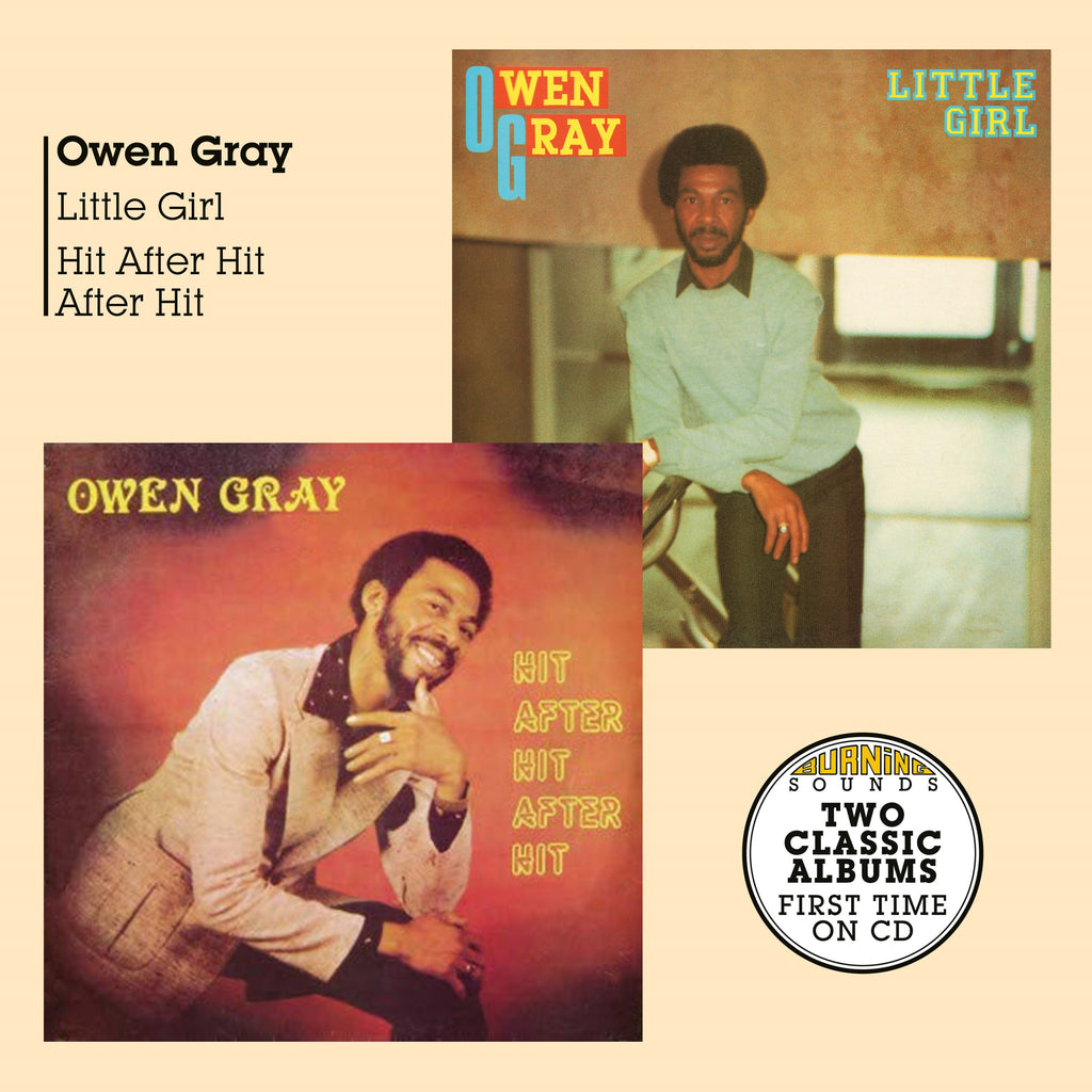 Owen Gray - Little Girl + Hit After Hit After Hit- Double CD - Secret Records Limited