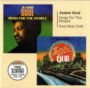 Junior Soul - Soul Man Dub + Sings For The People - CD Album