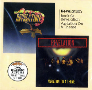 Revelation - Book of Revelation/Variation On A Theme - CD Album - Secret Records Limited