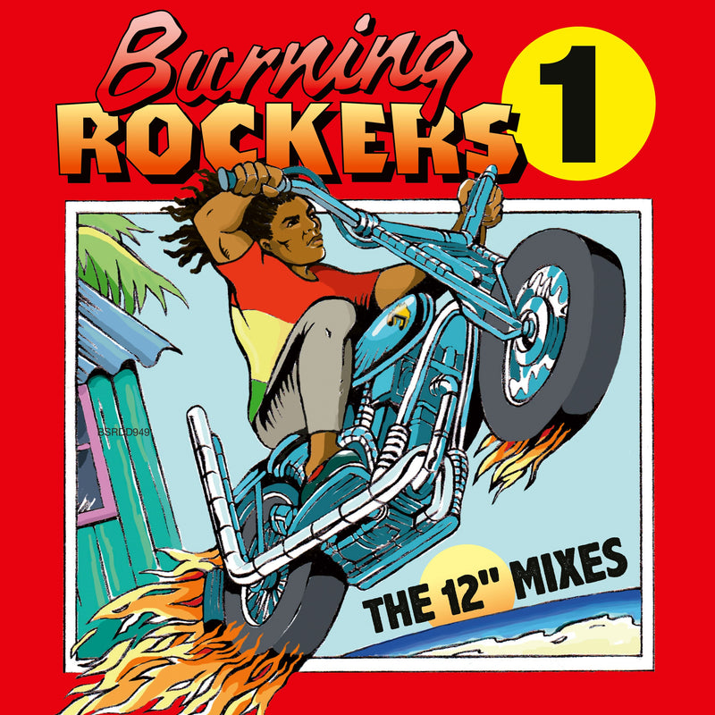 Various - Burning Rockers -  CD - Secret Records Limited