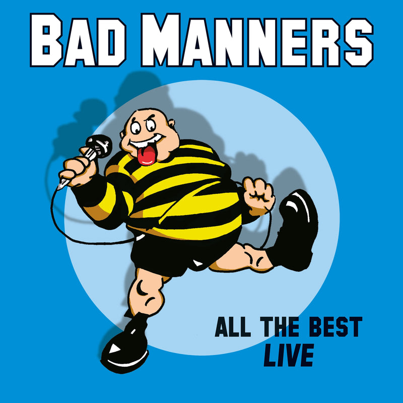 Bad Manners -  All The Best Live - LP VINYL