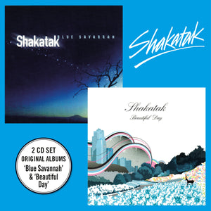 Shakatak - Blue Savannah + Beautiful Day - 2xCD Double Digipack