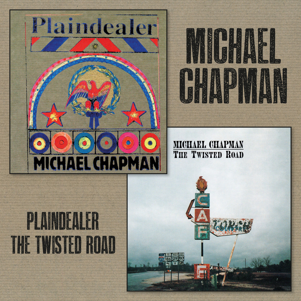 Michael Chapman - Plaindealer + Twisted Road 2CD - Secret Records Limited