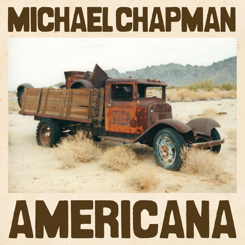 Michael Chapman  Americana  LP Vinyl - Secret Records Limited