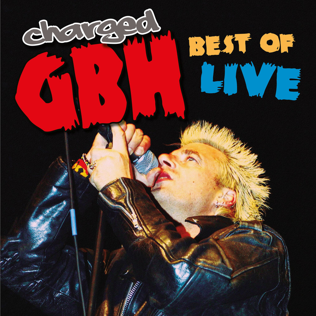 Charged GBH - Best of Live - LP VINYL