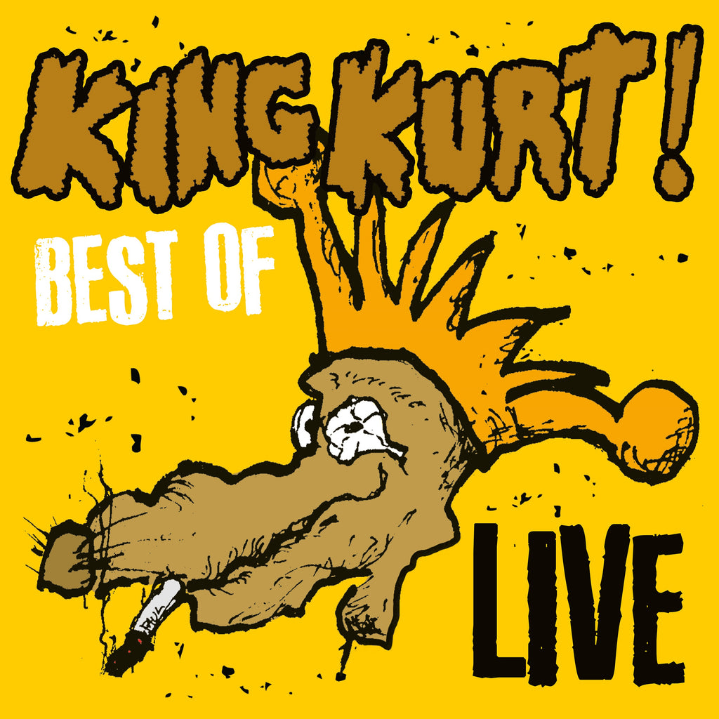 King Kurt - Best Of Live - LP Vinyl  Album