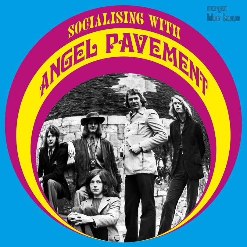 Angel Pavement - Socialising with - LP VINYL ALBUM - Secret Records Limited