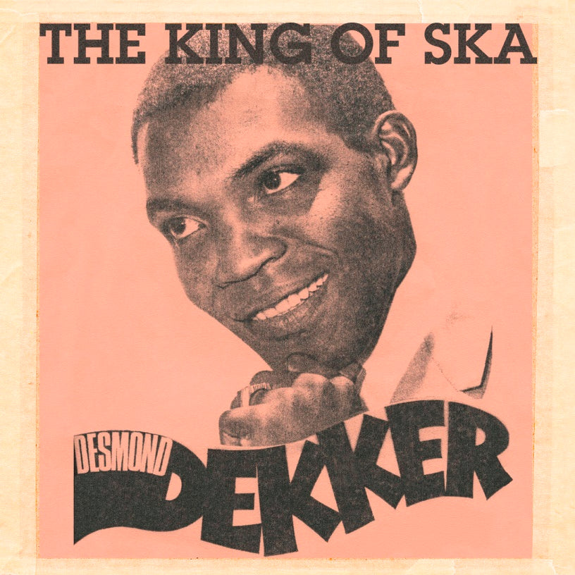Desmond Dekker - King of Ska - Vinyl LP ( Red) - Secret Records Limited