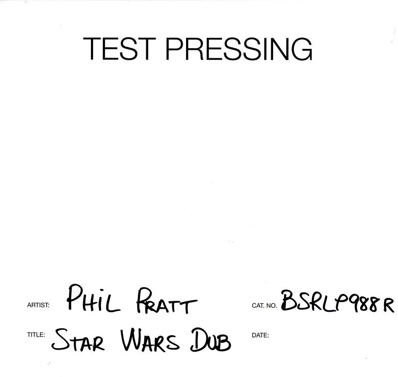 Phil Pratt - Stars Wars Dub - Vinyl LP Test Pressing