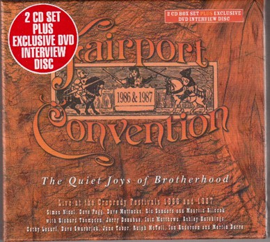 Fairport Convention - More Things We Did On Our Holidays - 2CD+DVD Album - Secret Records Limited