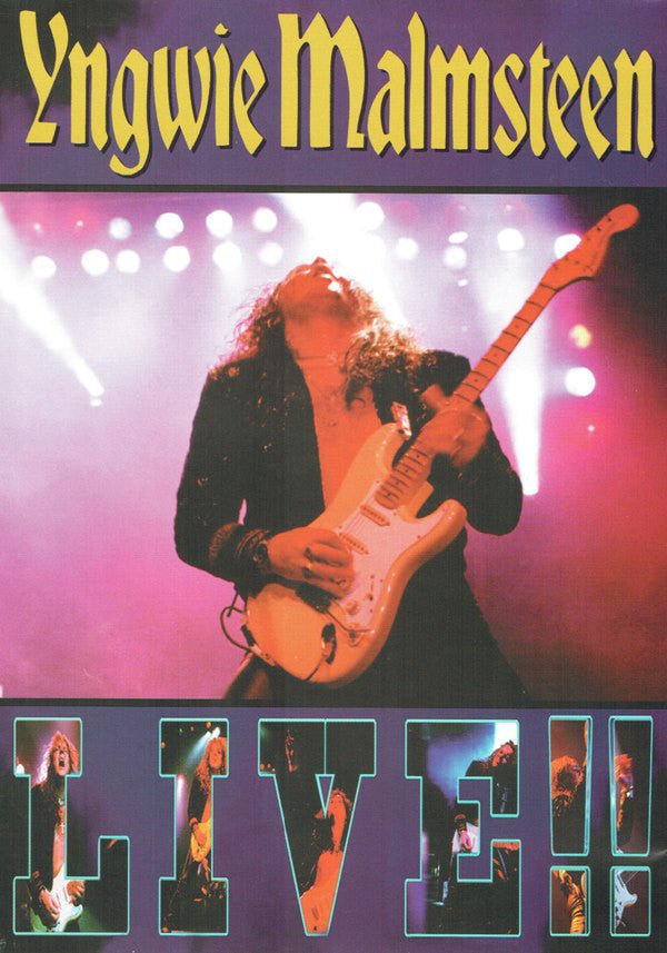 Yngwie Malmsteen - Live!! - DVD - Secret Records Limited