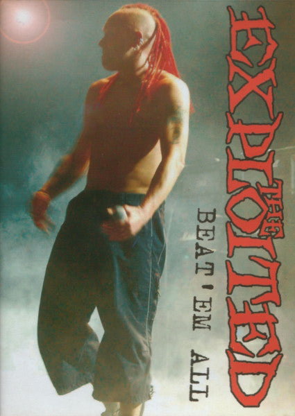 The Exploited - Beat 'Em All - DVD - Secret Records Limited
