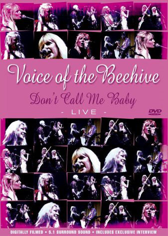 Voice Of The Beehive - Don't Call Me Baby Live - DVD - Secret Records Limited