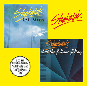 Shakatak - Full Circle + Let the Piano Play - CD Album - Secret Records Limited