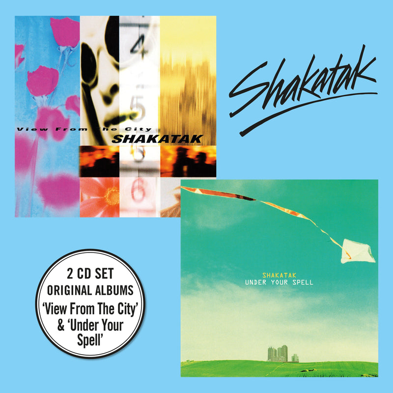 Shakatak - View From The City + Under Your Spell  - 2CD Digipack
